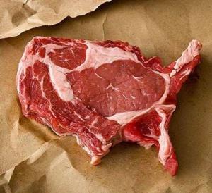 meat shaped usa