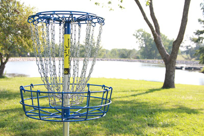 Disc-Golf-Basket-Jones-Park-Hole-17-West